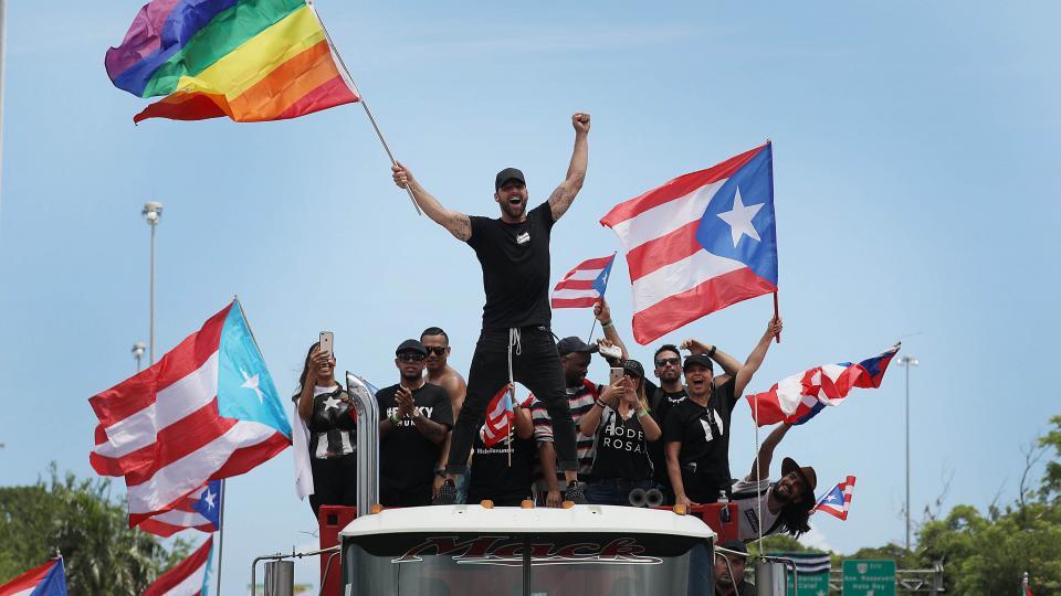 Porto Rico vince Riky Martin