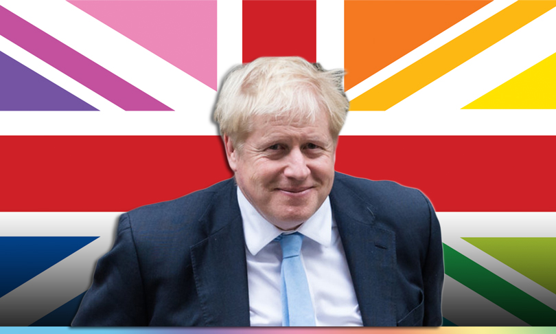 Boris Johnson against gay conversion centers