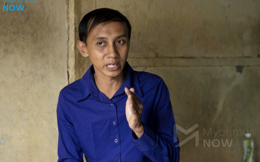 Myanmar's first openly gay MP candidate