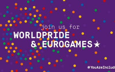 Copenhagen 2021 ospita WorldPride ed EuroGames