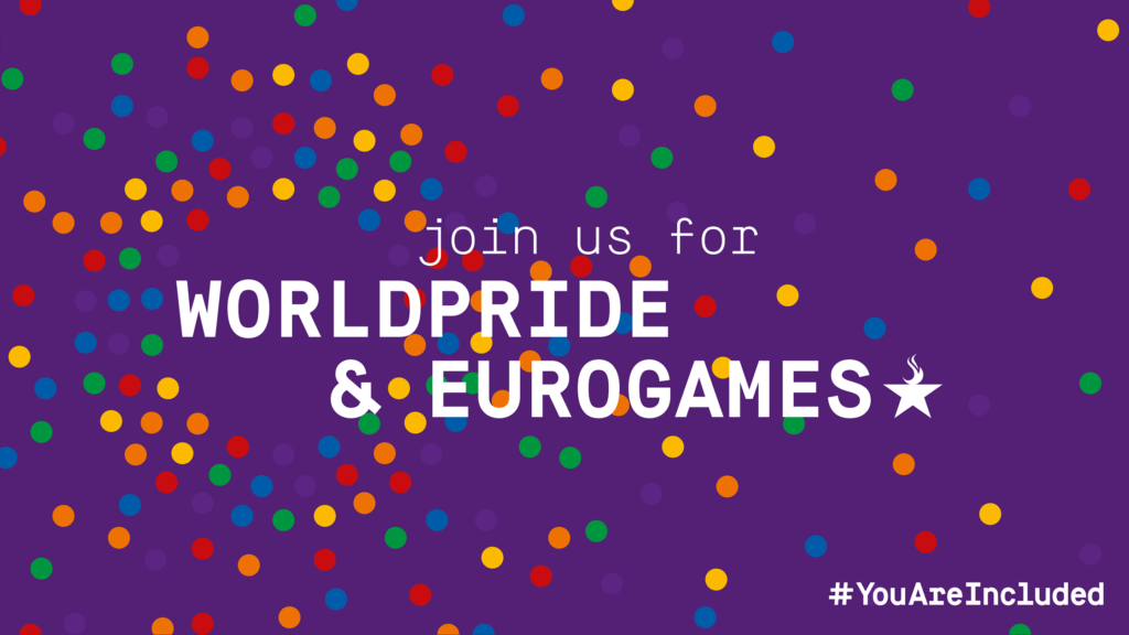 Copenhagen 2021 hosts World Pride and EuroGames